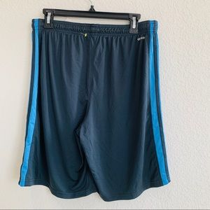 New Adidas Blue Shorts Medium M